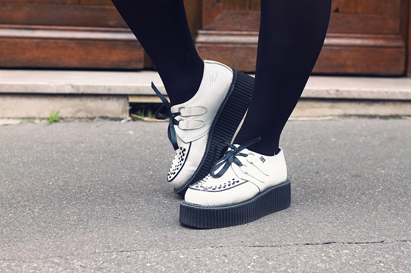 creepers double blanches