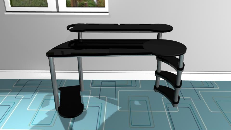 Gaming Desk Design