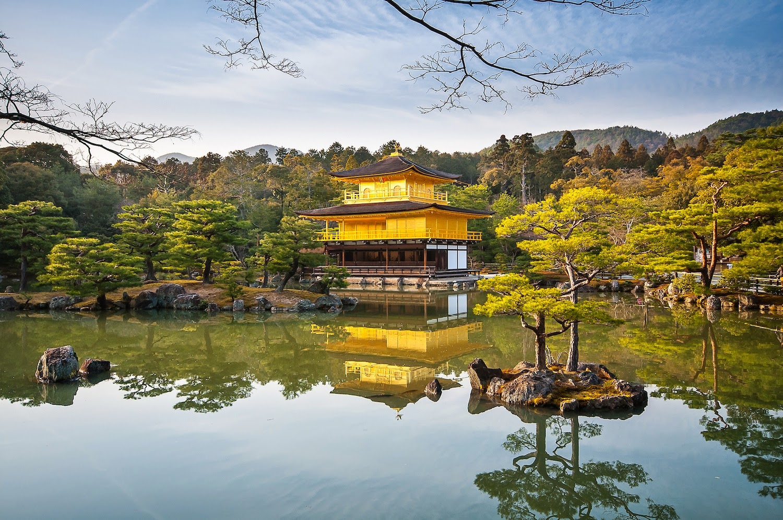 Il Tempio Kinkakuji a Kyoto, by Bill Richards