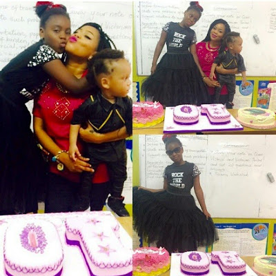 Fashion Designer Toyin Lawani celebrates first daughter as she turned 10