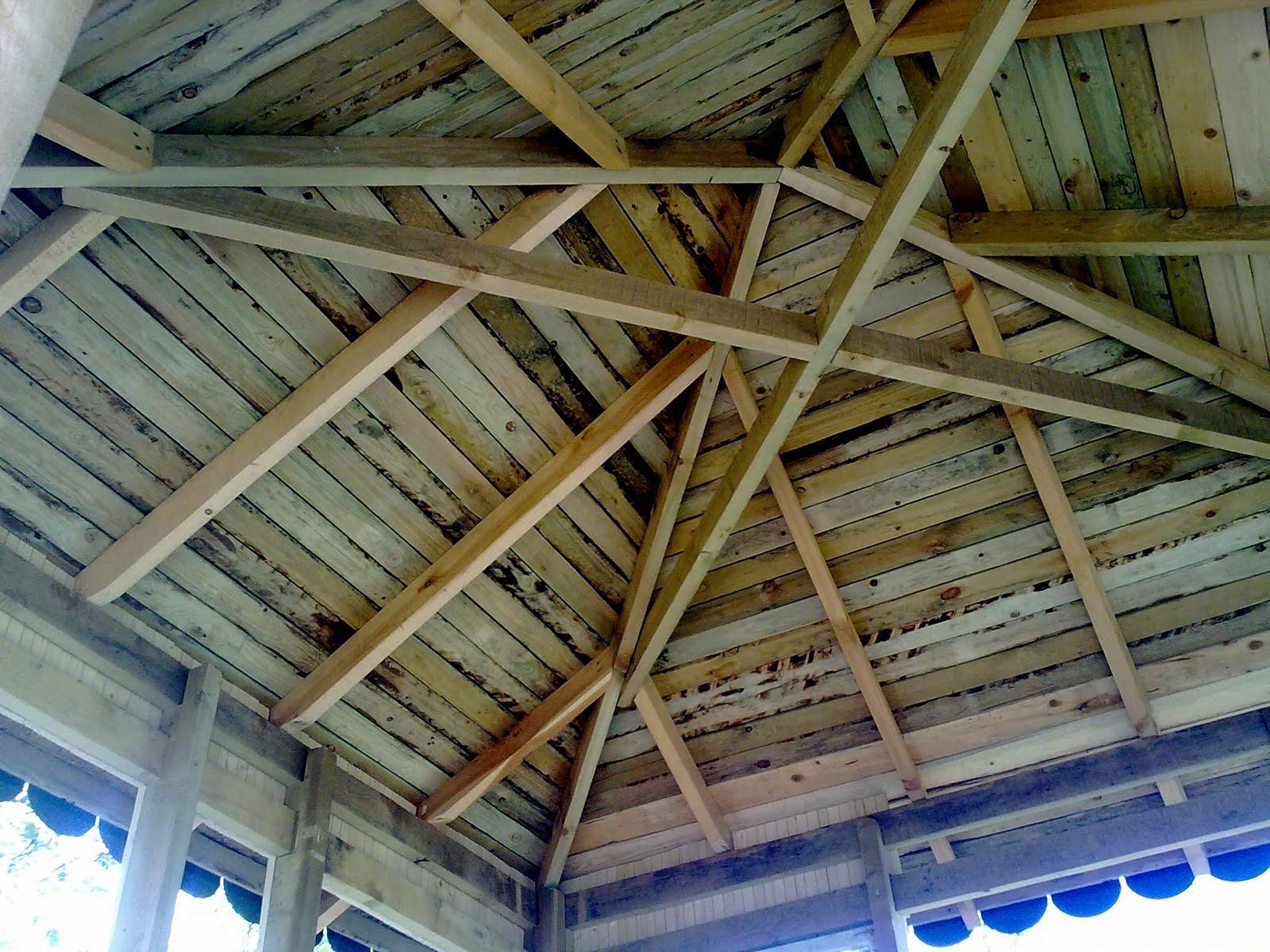 Устройство крыши для беседки своими руками фото 948