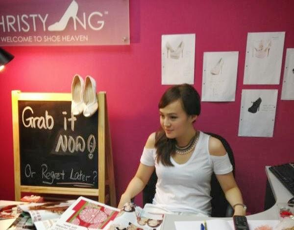 Christy Ng at work