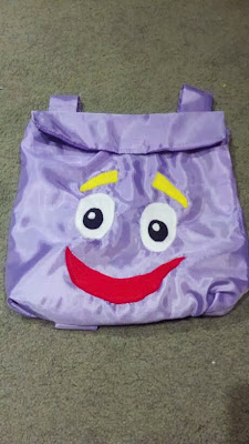 Dora DIY backpack