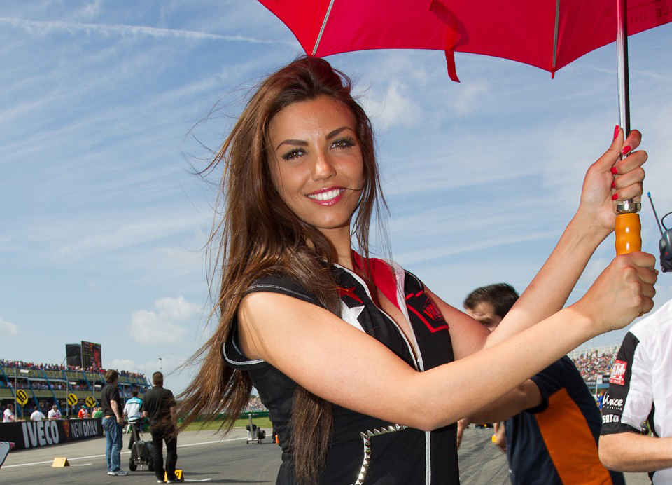 Photo Paddock Girl MotoGP Iveco TT Assen Netherlands Grand Prix 2012