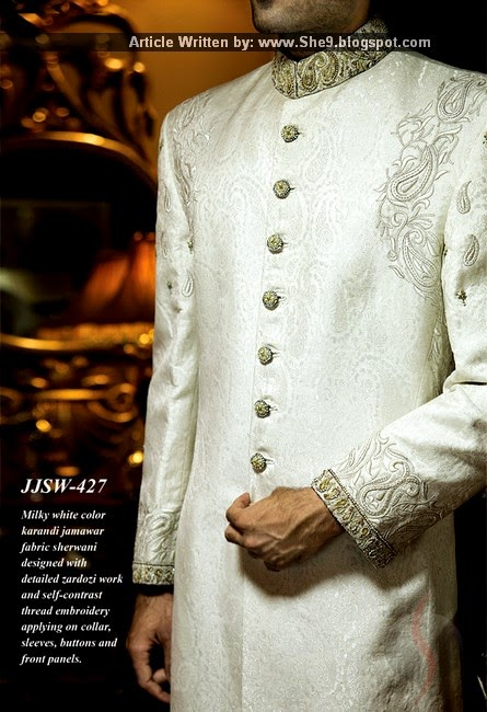 Junaid Jamshed Men Couture for Weddings