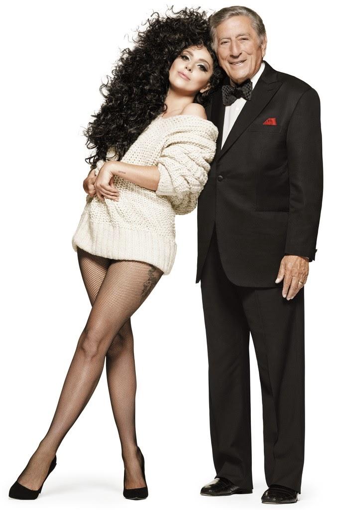 ليدي غاغا وطوني بينيت معا في حملة الترويج لـ H&M