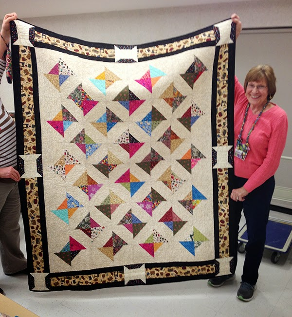 Speaking at Perinton Quilt Guild