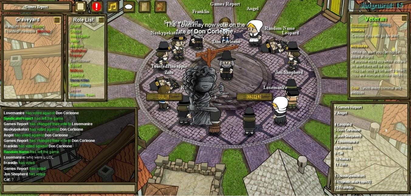 Town of Salem Verteidigen