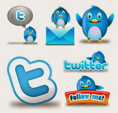Fluzzy Twitter Icon Set