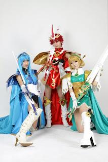 Ren, Tasha, Yukari Cosplay for Mahou Kishi Reiasu