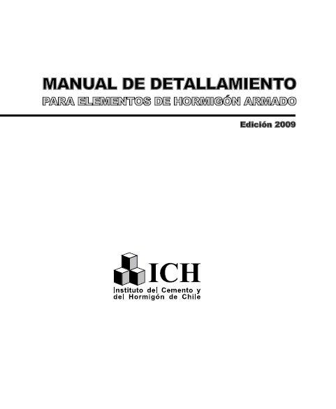 material de apoyo para ingenier u00eda estructural  concreto armado