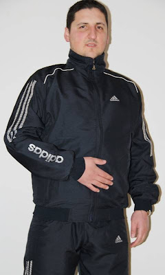 Adidas siyah eşofman takımı