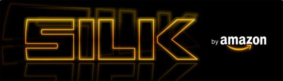 Amazon Silk logo.