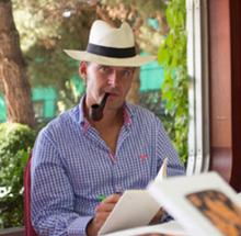 El escritor Plácido Díez Gansert