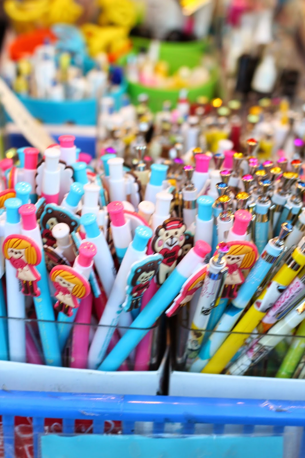 cool stationary at the night market www.footnotesandfinds.com