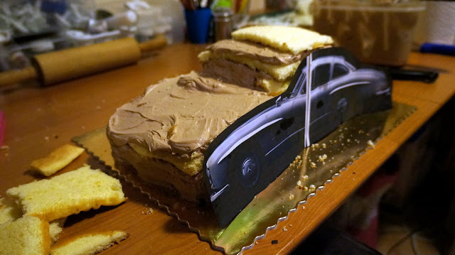 Mercedes-Benz 3D Cake Design