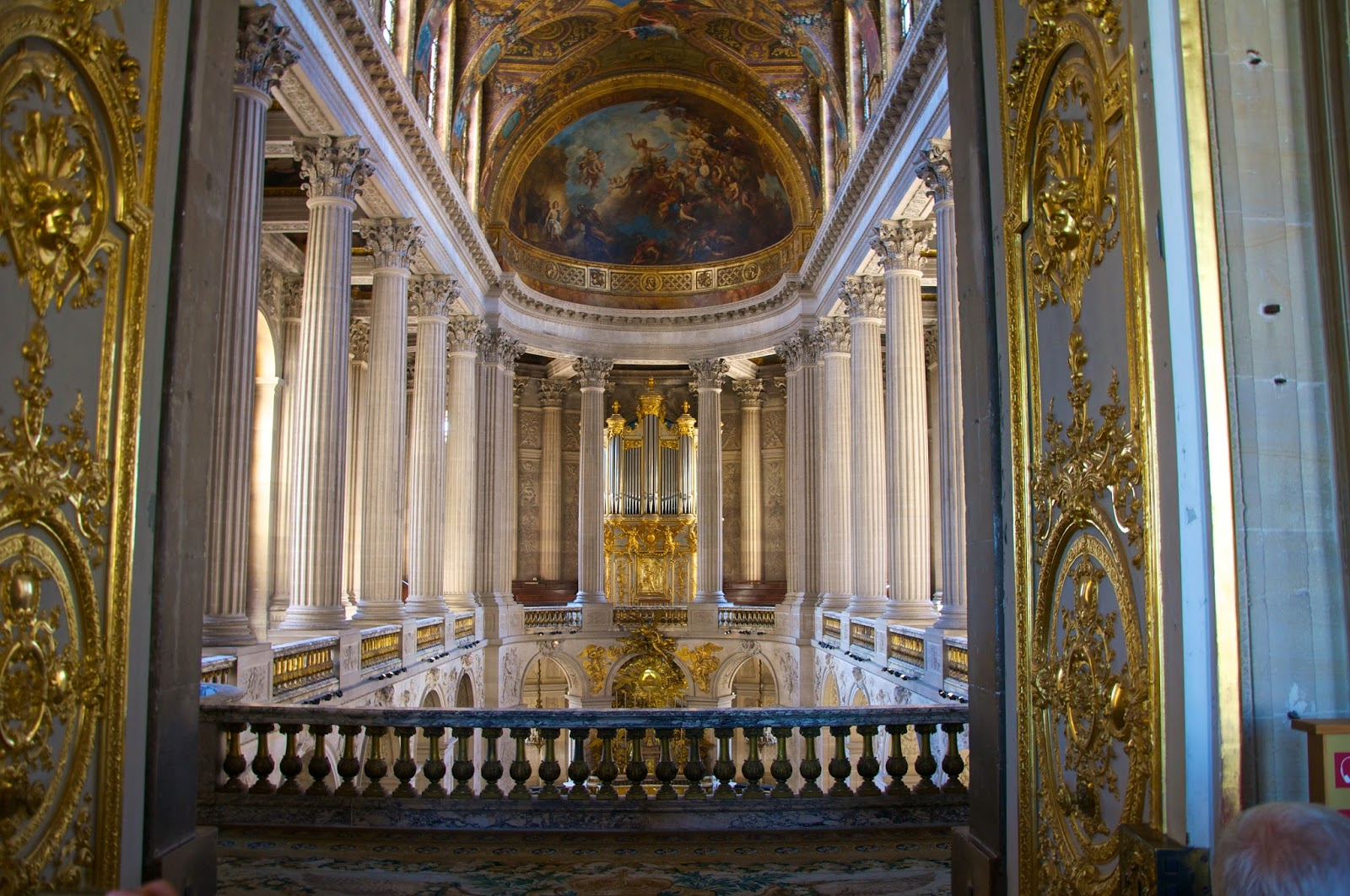The Royal Chapel inside Le Chateau de Versailles, french for The Palace of Versailles, just outside Paris, France www.thebrighterwriter.blogspot.com