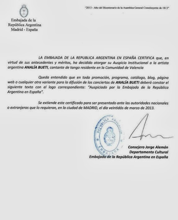 Anal a bueti - Consulado argentino en madrid telefono ...
