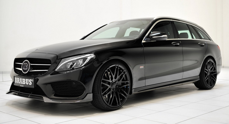 2017 C63 Estate >> Brabus Turns The Wick On New Mercedes-Benz C-Class Wagon