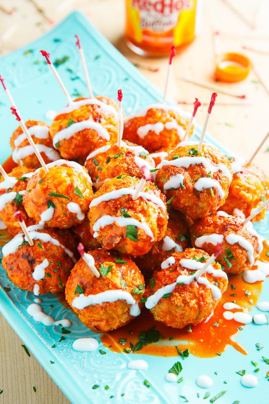 recipe: fried buffalo chicken balls [26]