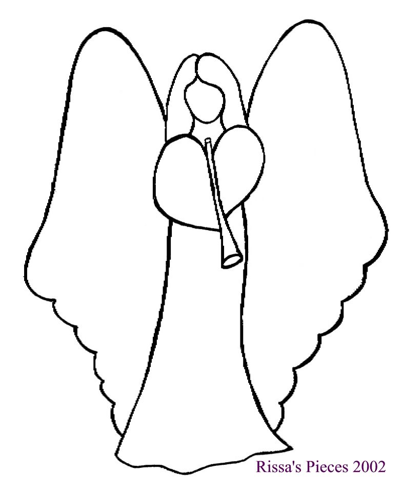 Subversive stitchers women armed with needles little for Angel decoration template