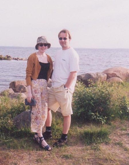 Ensimmäinen yhteinen kotimme oli meren lähellä.