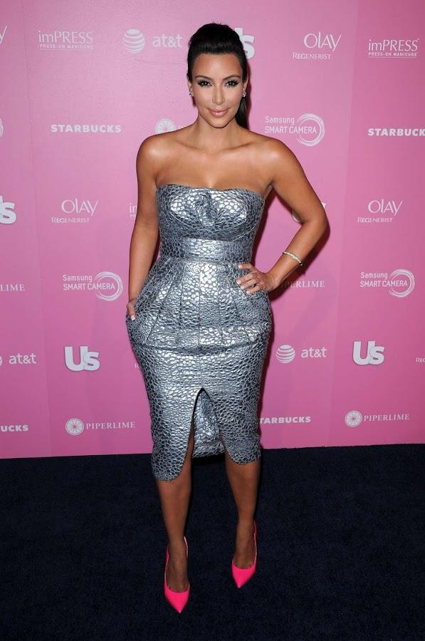 Kim Kardashian  sparkling at Us Weekly Hot Hollywood Style Party 2012 photo