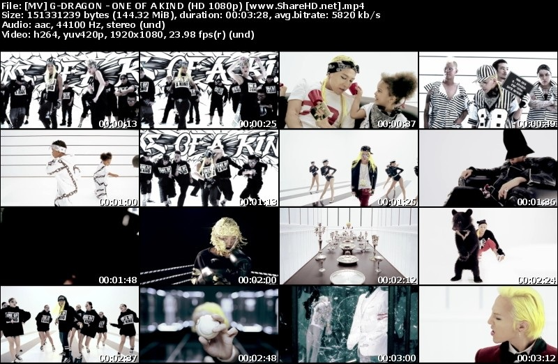 Download MV G-Dragon - One Of A Kind (Full HD 1080p)