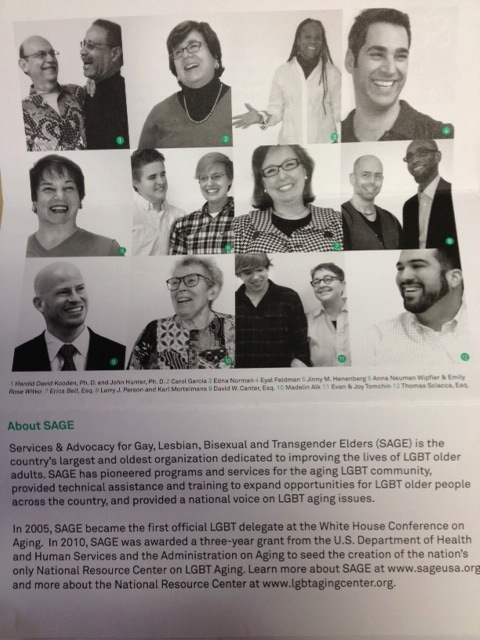 Guess who is featured on the new SAGE donation letter??