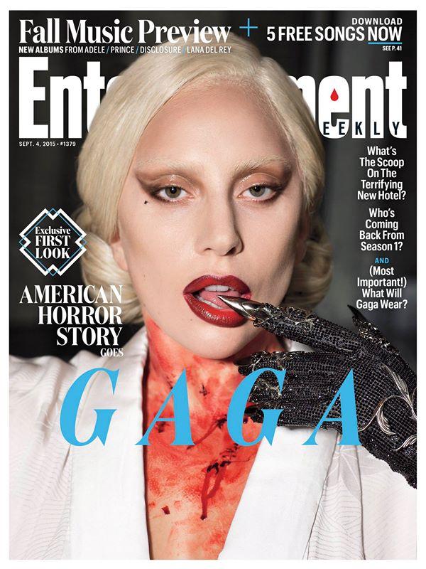 Lady Gaga es la portada de Entertainment Weekly.