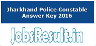 Jharkhand Police Constable Answer Key 2016