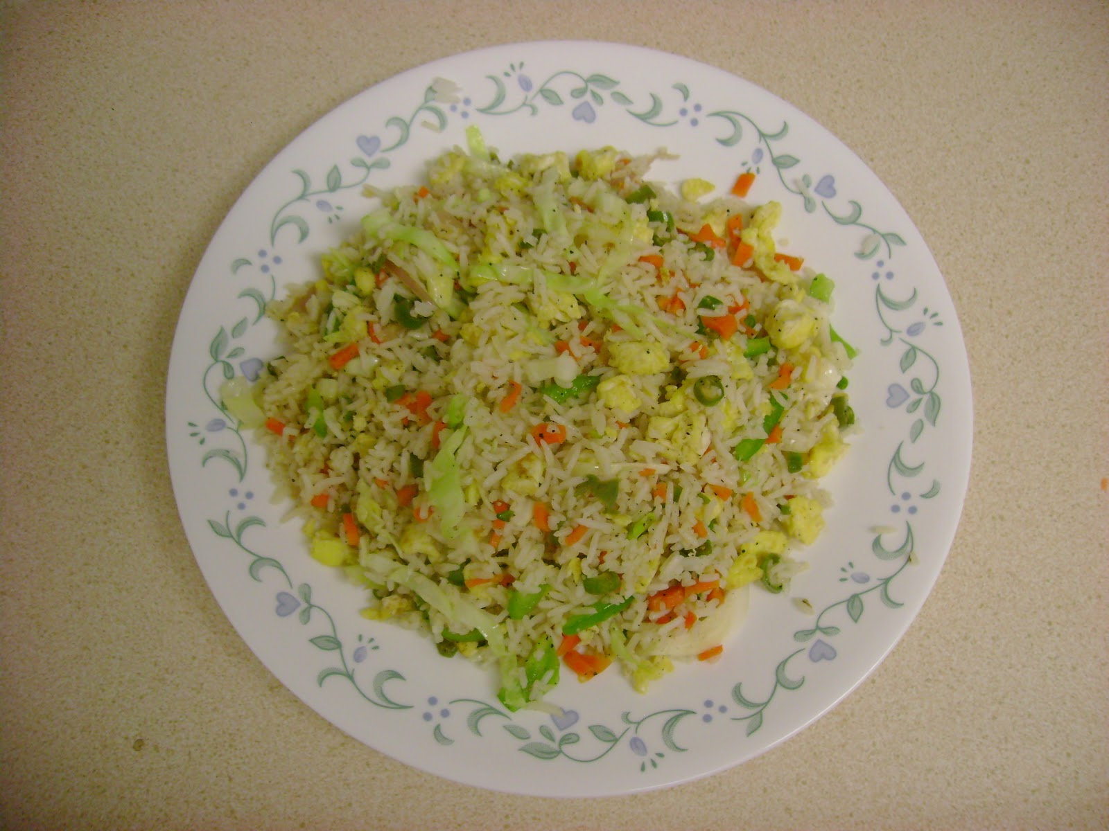 Indian Cooking Recipes: Egg Fried Rice