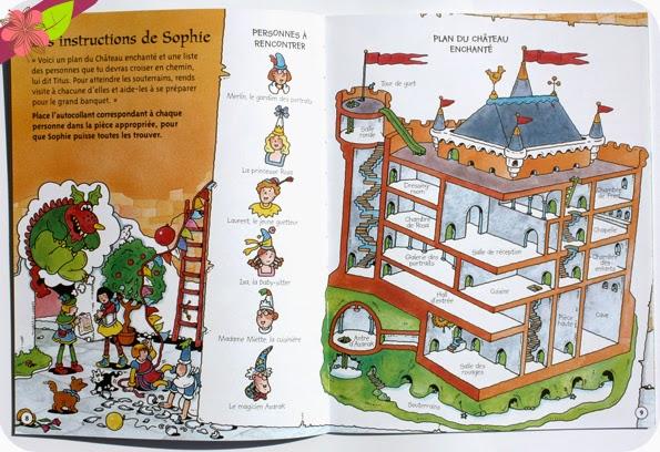 Énigmes au château - éditions Usborne