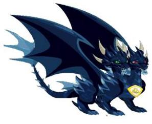 Dragão Puro Sombrio