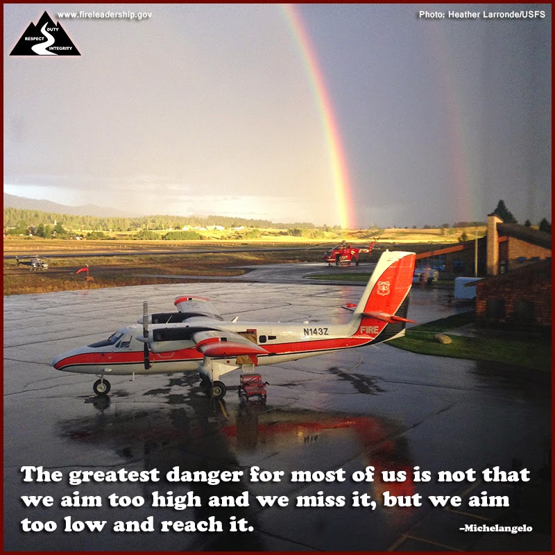 The greatest danger for most of us is not that we aim too high and we miss it, but we aim too low and reach it. –Michelangelo