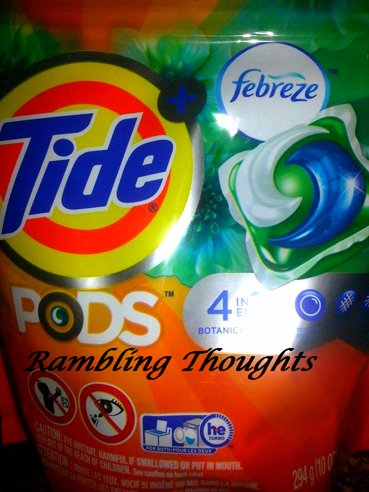 Rambling Thoughts, Influenster, Voxbox, Tide Pods, Review, #TidePods