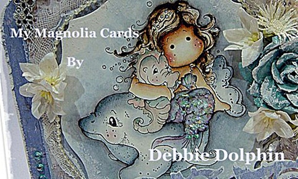 Magnolia cards by Debbie