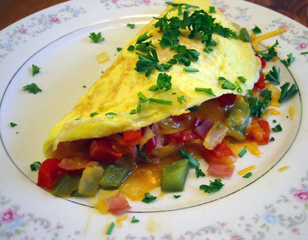 THE FOOD MAP: YUMMY LUSCIOUS OMELETTE