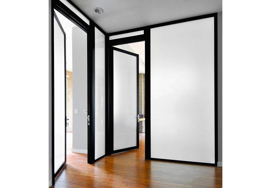 Message, matchless))), Reverse swinging exterior door consider