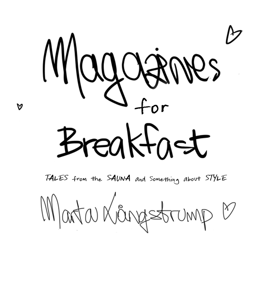Magazines for Breakfast