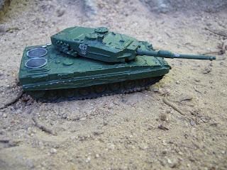 main battle tank model Leopard 2