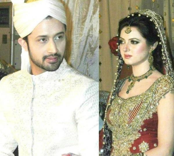 Atif Aslam and His Wife