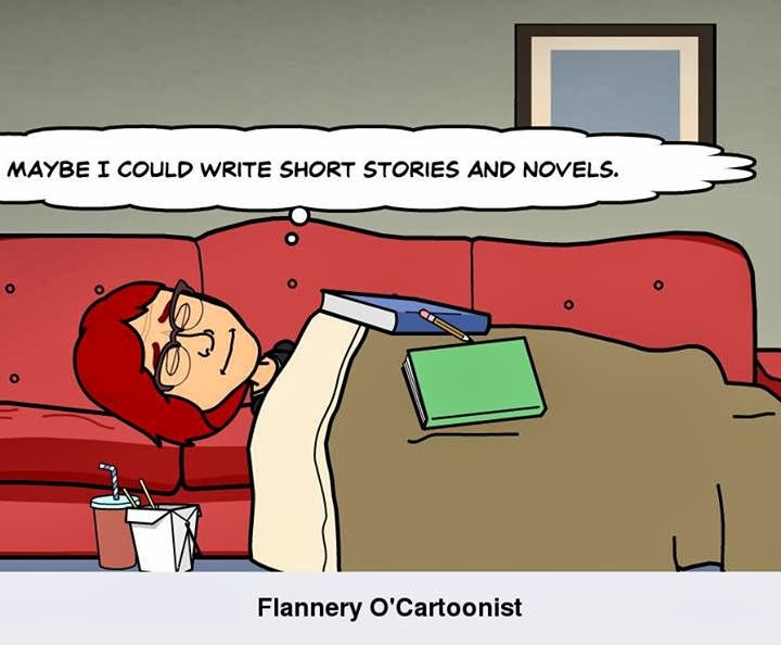 Flannery O'Cartoonist