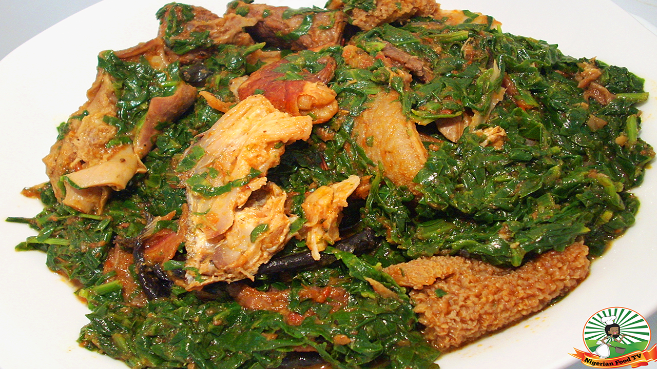 Efo riro soup recipe how to cook efo riro soup for African cuisine dishes