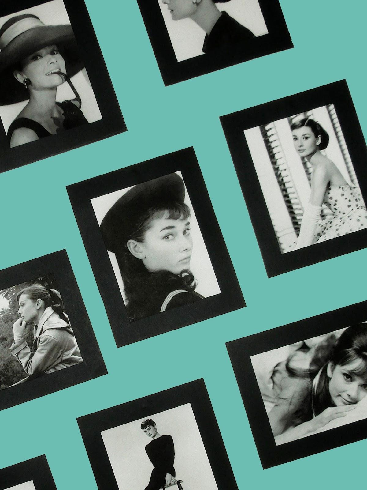 MI ARMARIO COQUETO: DIY COMPOSICION DE CUADROS: Audrey Hepburn