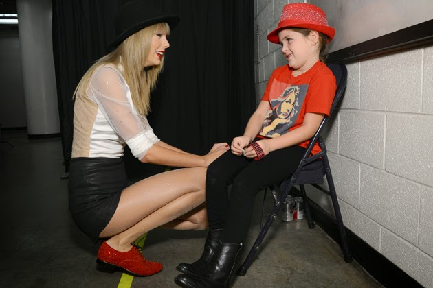 Taylor Swift Bonds With Little Girl Struck by Car Before Her Concert