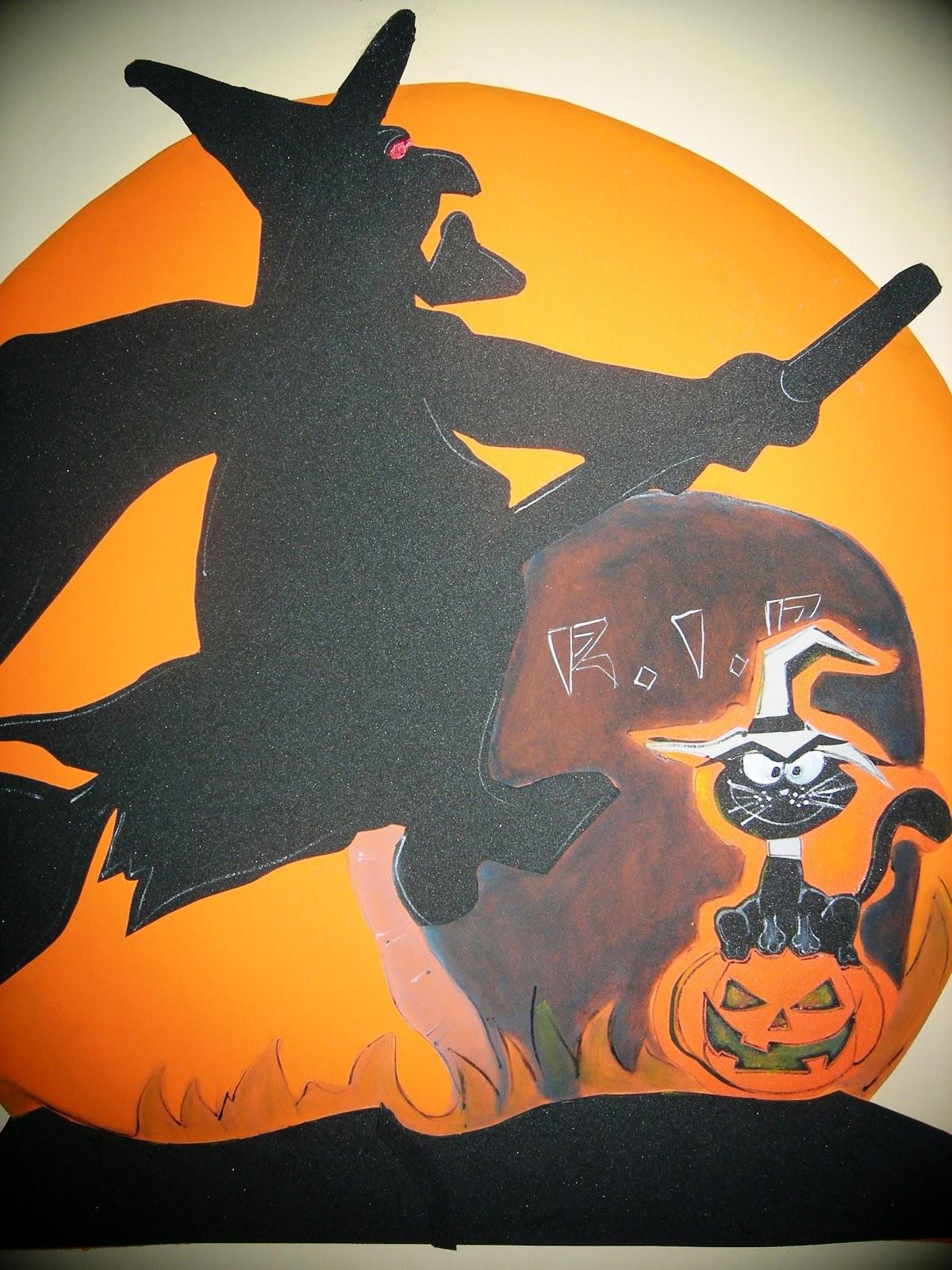Arte gabrielle halloween ii noche tenebrosa jaja - Como hacer decoraciones de halloween ...