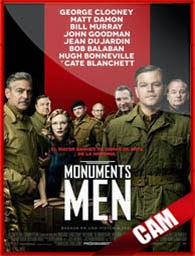 Monuments Men (2014) 3GP-MP4 Online