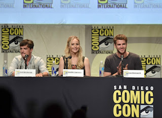Hunger Games au San Diego Comic Con 2015