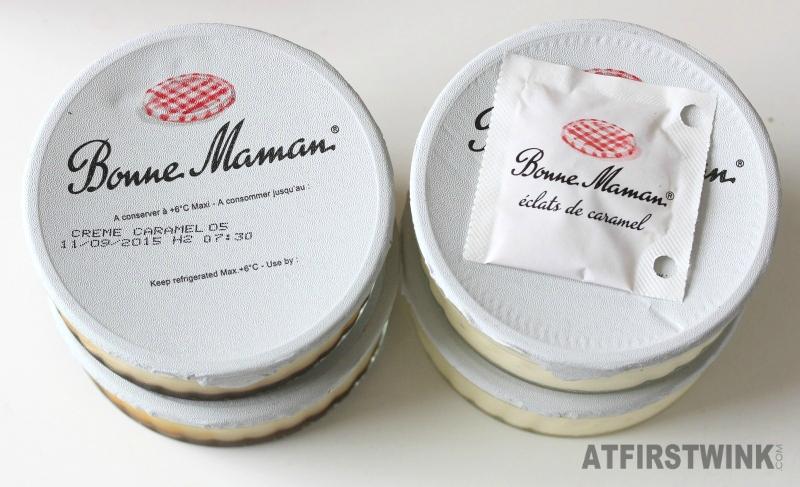 Bonne Maman Crème Caramel and Crème Brûlée (zonder verpakking)